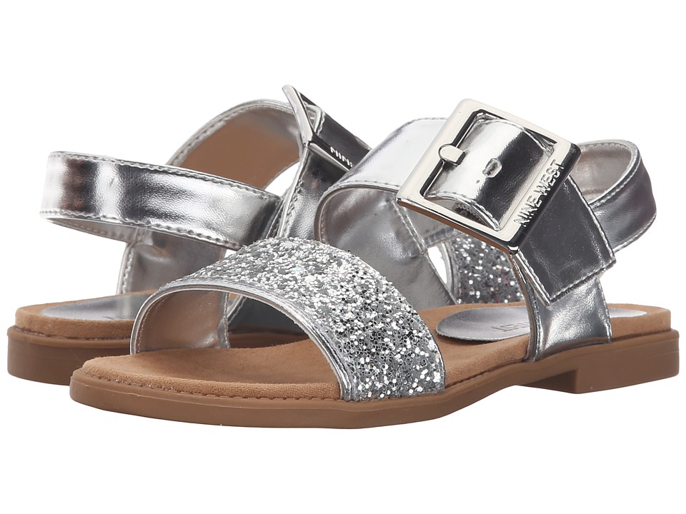 Nine West Kids - Celeste (Little Kid/Big Kid) (Silver) Girl