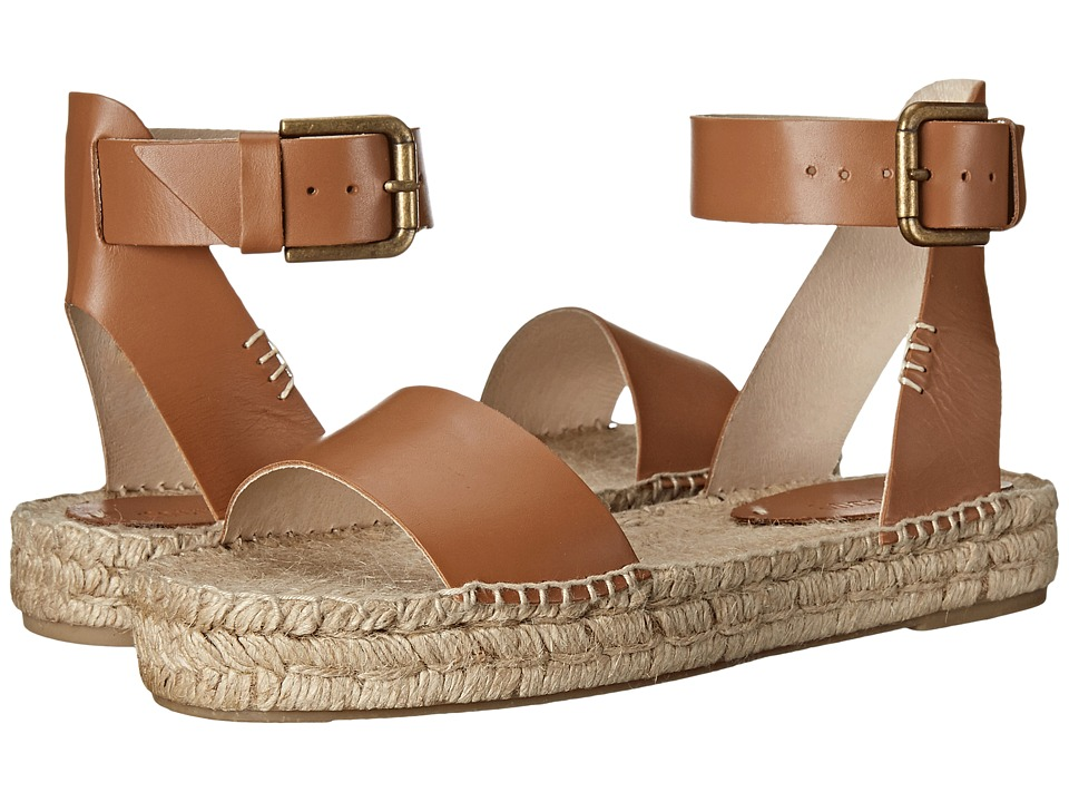 Soludos - Platform Open Toe Sandal (Tan) Women's Sandals