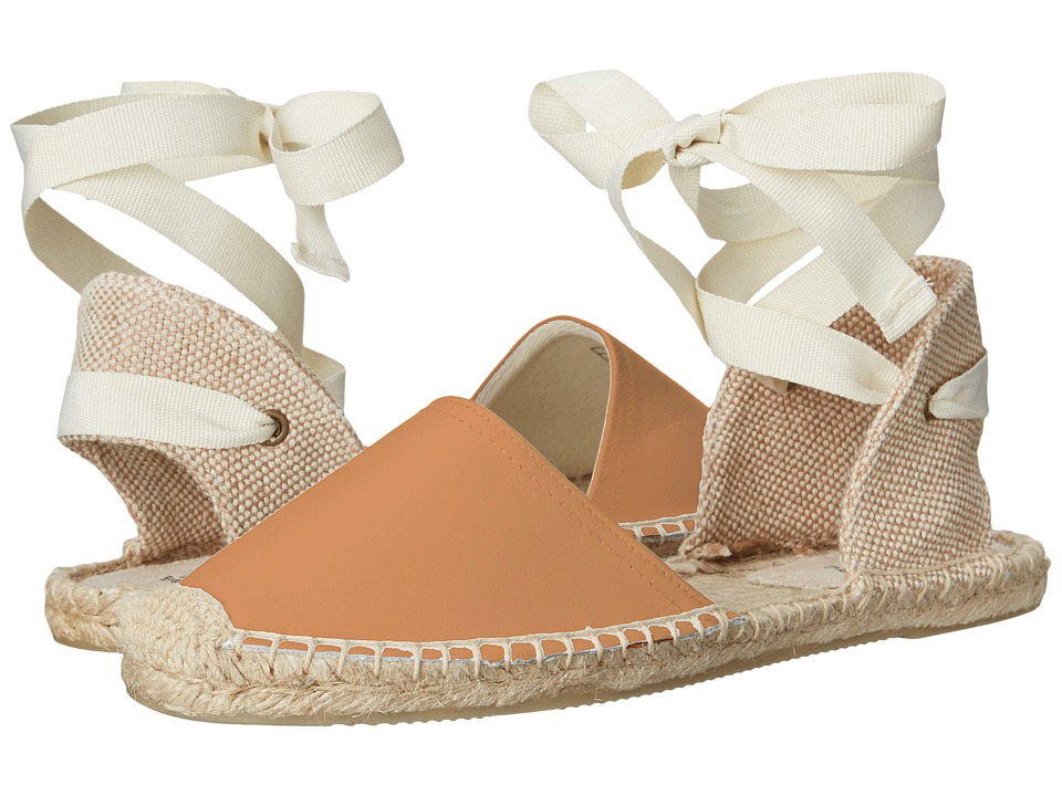 Soludos - Classic Sandal Leather (Tan) Women's Sandals