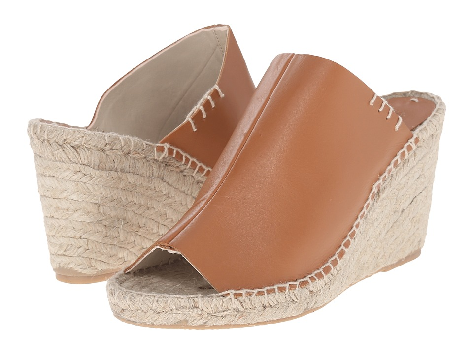 Soludos - Mule Wedge (Tan) Women's Wedge Shoes