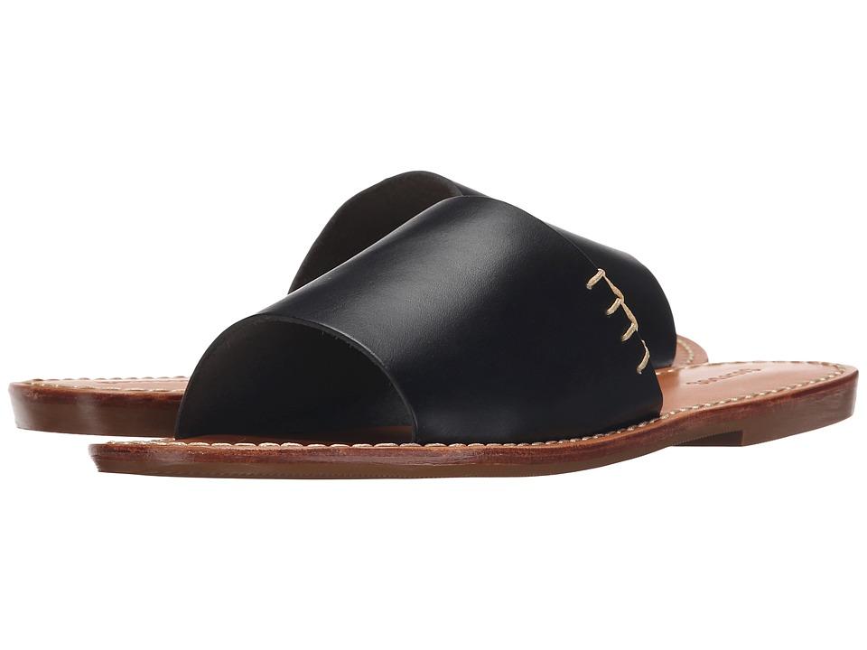 Soludos - Slide Sandal (Black) Women's Sandals