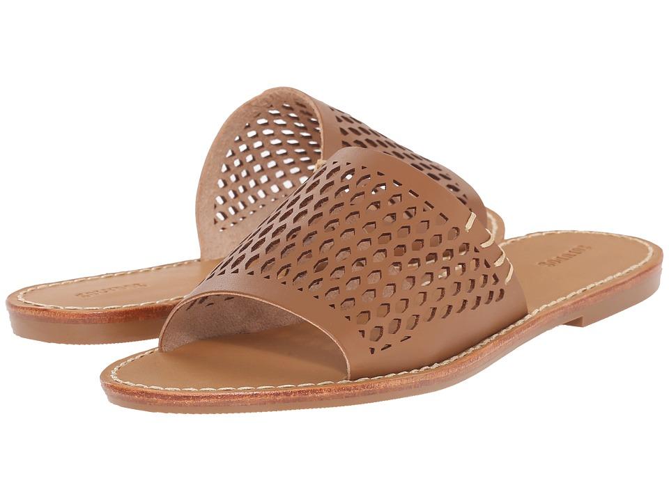 Soludos - Slide Sandal (Basket Weave Vachetta) Women's Sandals