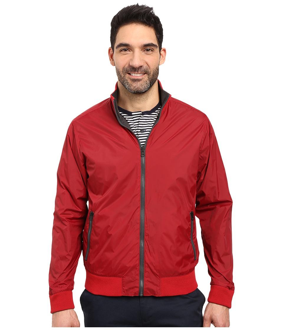 Kenneth Cole Sportswear - Reversible Bomber (Blaze Combo) Men's Coat