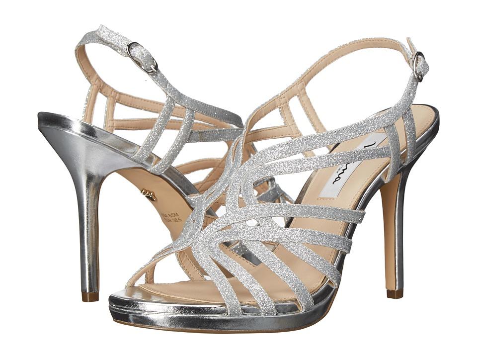 Nina - Raisa (Silver Glaze) High Heels