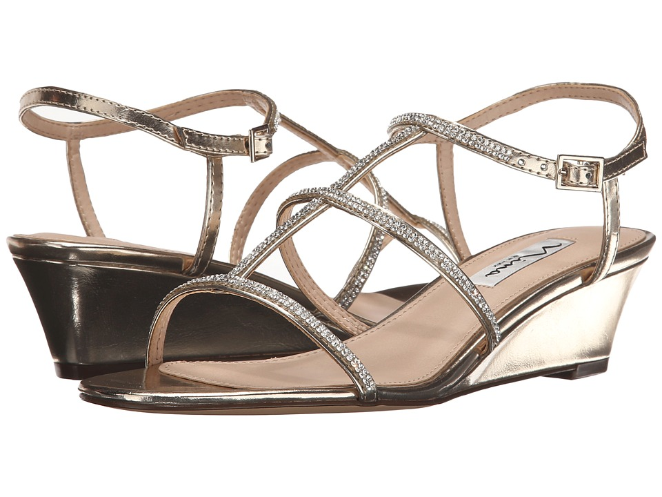 Nina - Floria (Platino) Women's Wedge Shoes