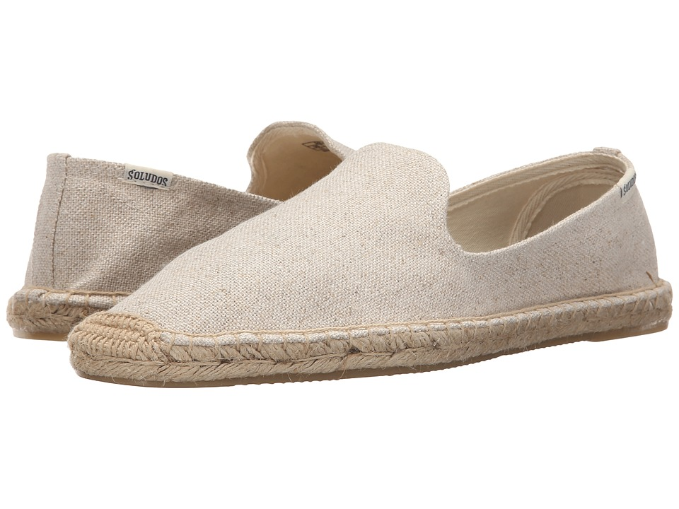 Soludos - Smoking Slipper (Cotton Sand) Men's Slippers