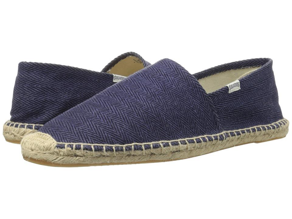 Soludos - Original Herringbone Twill (British Navy) Men's Shoes