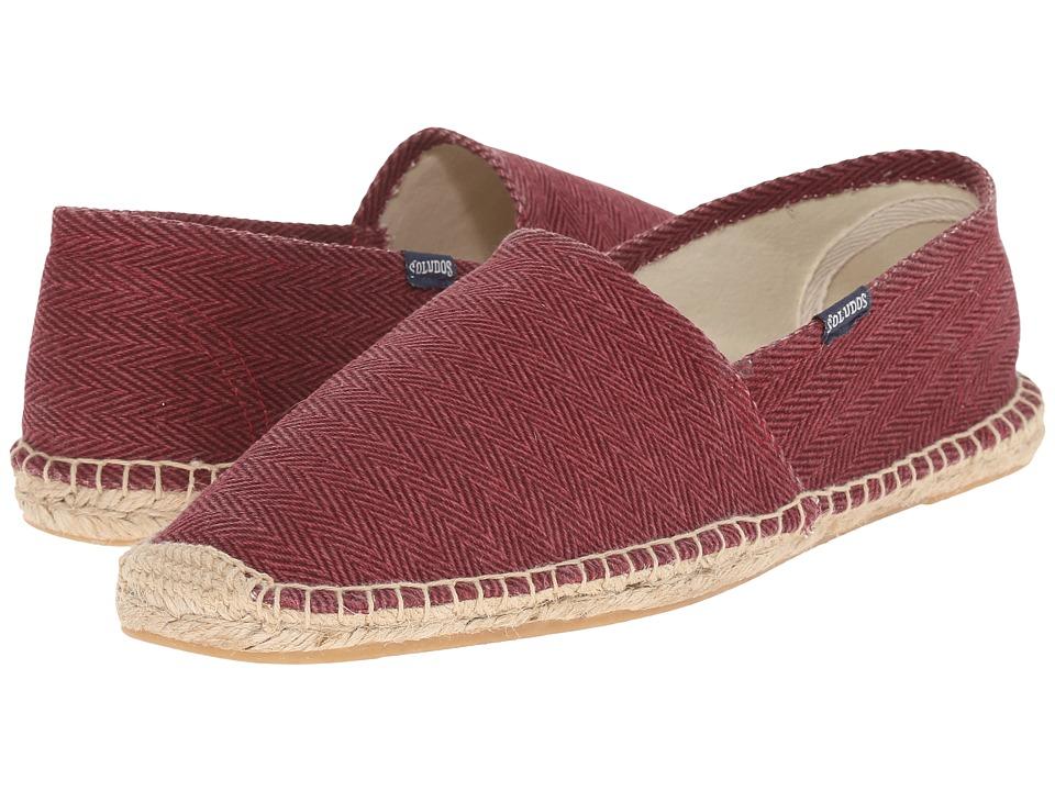 Soludos - Original Herringbone Twill (Venetian Red) Men's Shoes