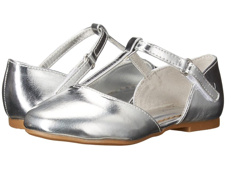 Nine West Kids - Fiorenza (Toddler/Little Kid) (Silver) Girl's Shoes