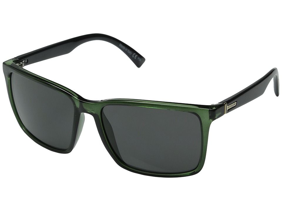 VonZipper - Lesmore (Bottle Black Crystal/Grey) Sport Sunglasses
