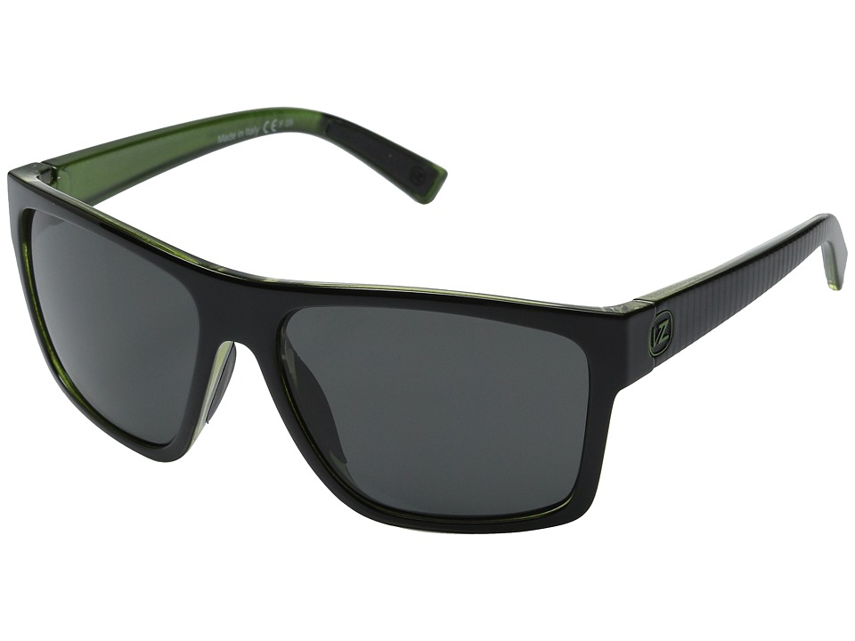 VonZipper - Dipstick (Sport Lux Green Metallic/Grey) Sport Sunglasses