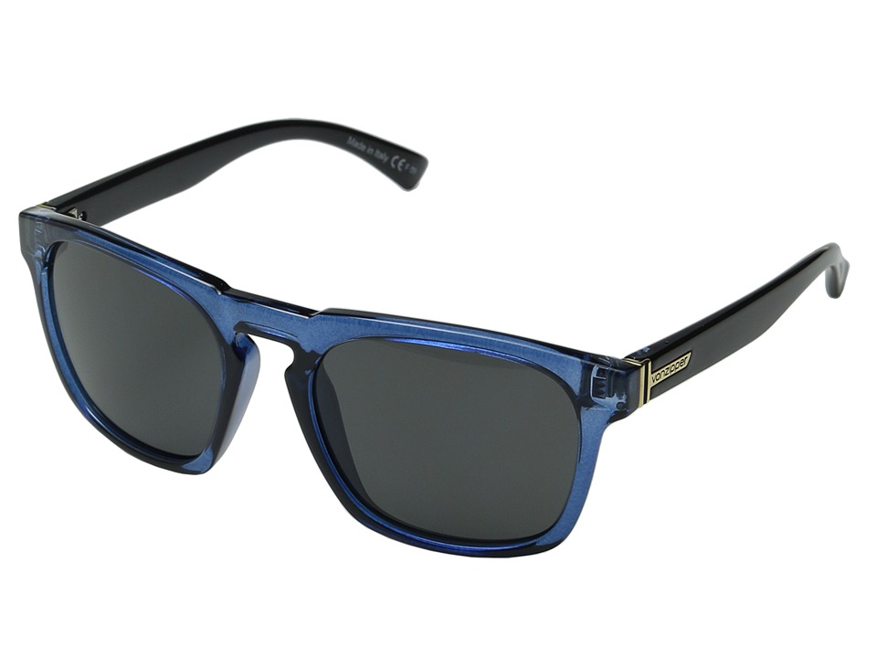 VonZipper - Banner (Slate Black Crystal/Grey) Sport Sunglasses
