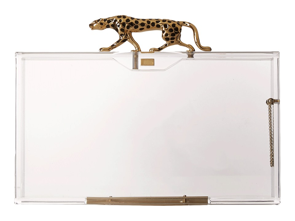 Charlotte Olympia - Savage Pandora (Transparent) Clutch Handbags