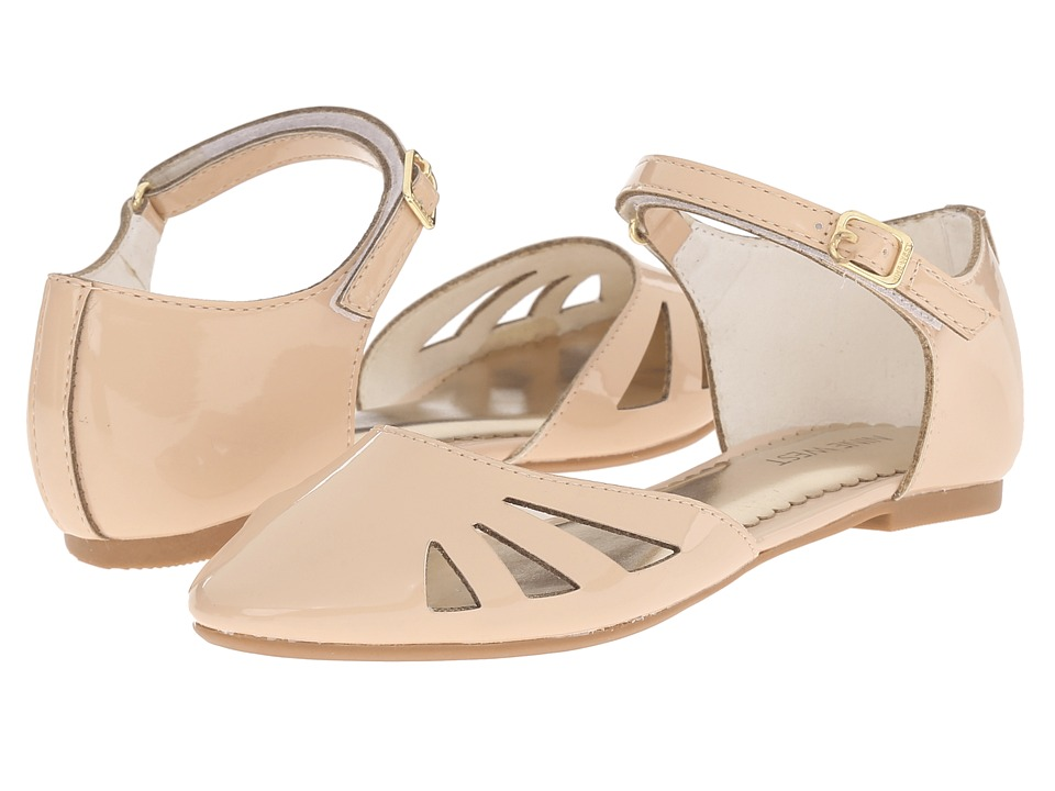 Nine West Kids - Frieda (Little Kid/Big Kid) (Light Natural Patent) Girl's Shoes