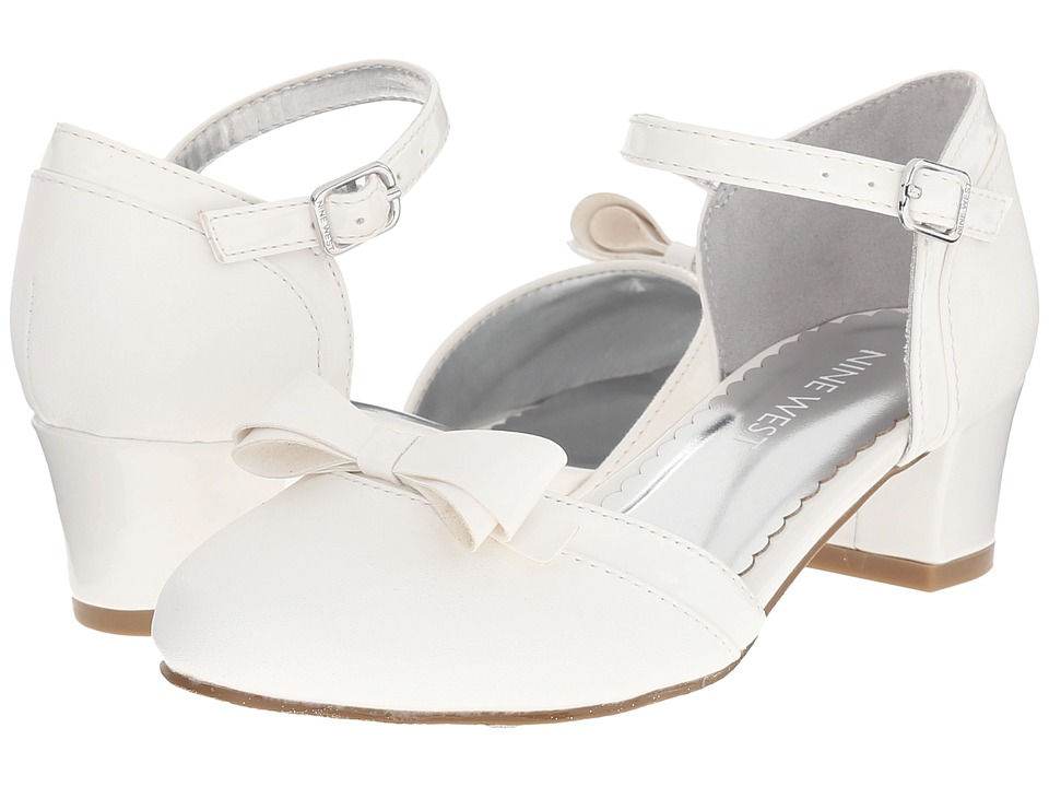 Nine West Kids - Petrona (Little Kid/Big Kid) (White) Girl