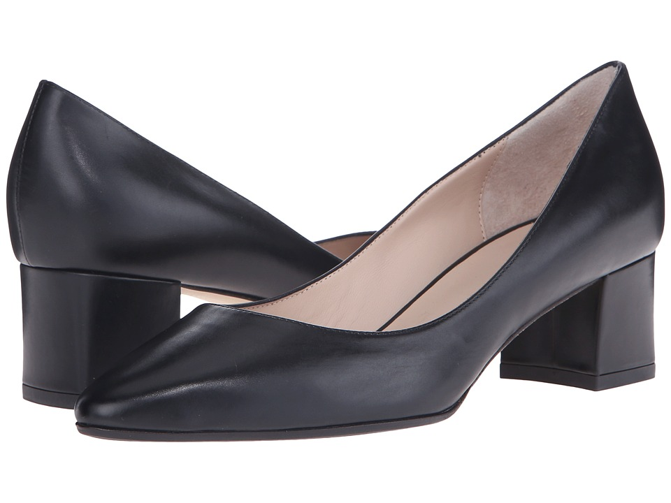 Aquatalia - Pheobe (Black Anil Calf) Women's 1-2 inch heel Shoes