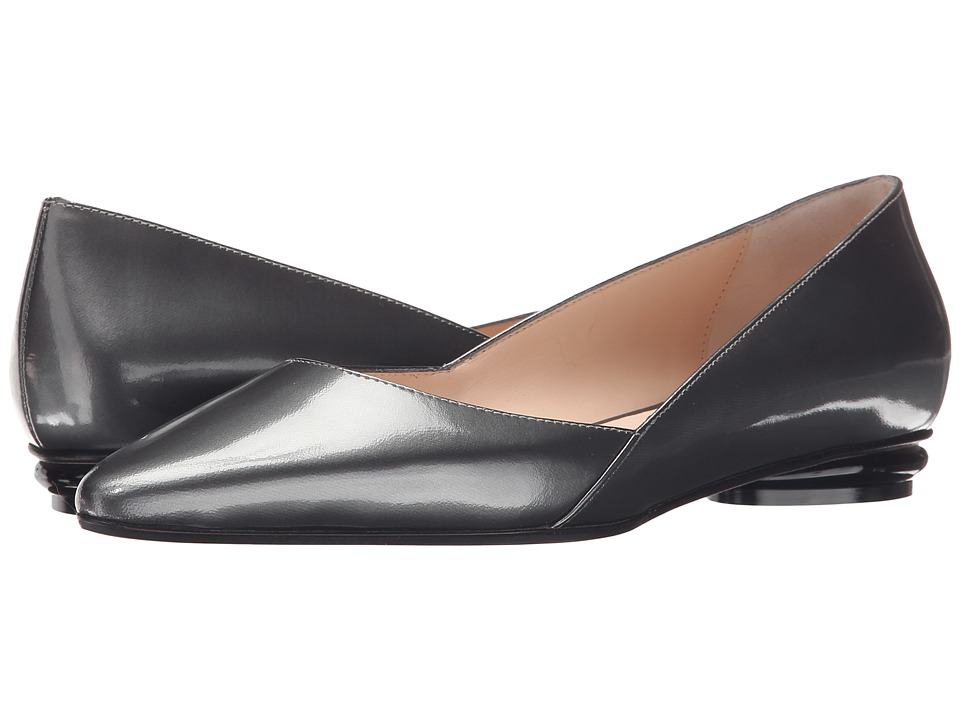 Aquatalia Kate (Anthracite Mirror Calf) Women