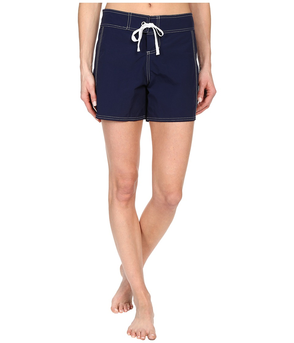 Tommy Bahama - Solid 5 Boardshorts (Mare Navy) Women's Swimwear