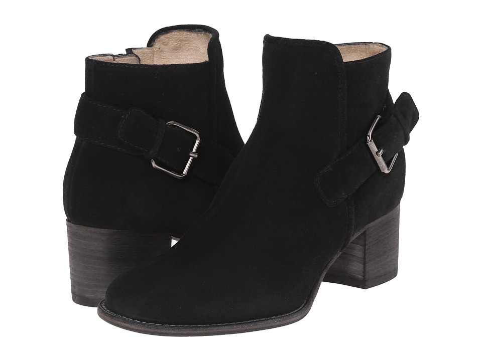 Aquatalia - Tabatha (Black Suede) Women's Shoes