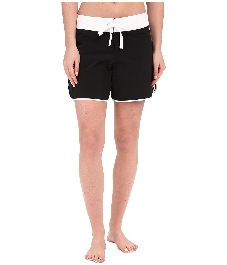 Tommy Bahama - Boardshorts 5 Color Block Boardshorts Cover-Up (Black) Women's Swimwear