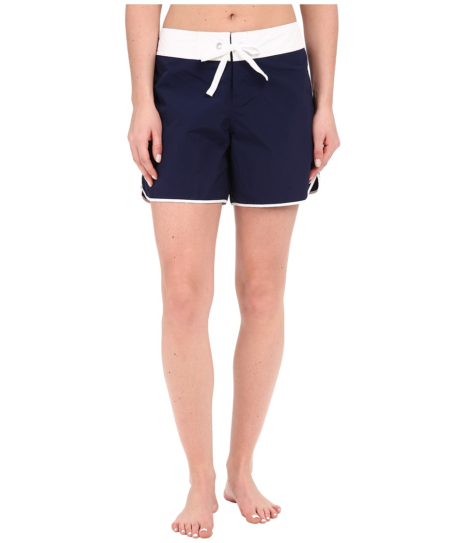 Tommy Bahama - Boardshorts 5 Color Block Boardshorts Cover-Up (Mare Navy) Women's Swimwear