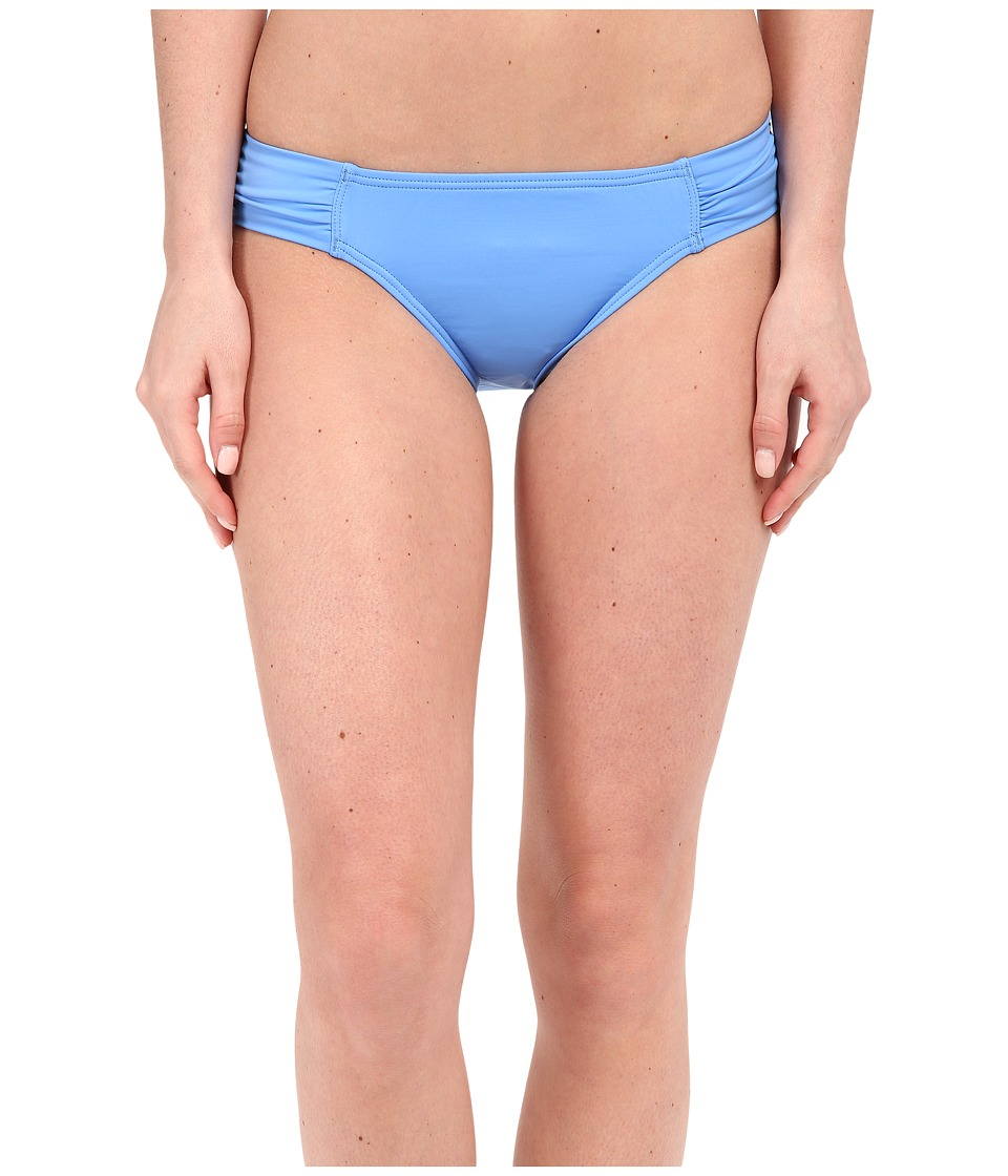 Tommy Bahama Pearl Solids Side Shirred Hipster Bottoms (Blue Zaffiro) Women
