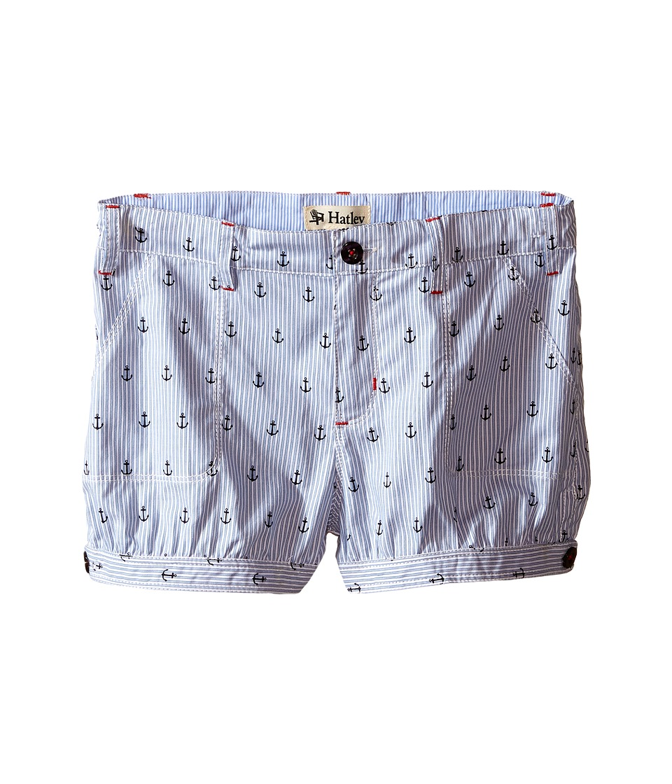Hatley Kids - Nautical Bloomer Shorts (Toddler/Little Kids/Big Kids) (Blue) Girl's Shorts