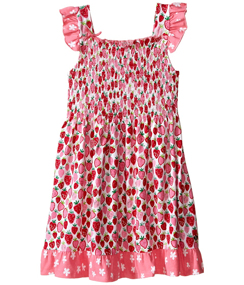 Hatley Kids - Strawberry Sundae Smocked Dress (Toddler/Little Kids/Big Kids) (Pink) Girl's Dress