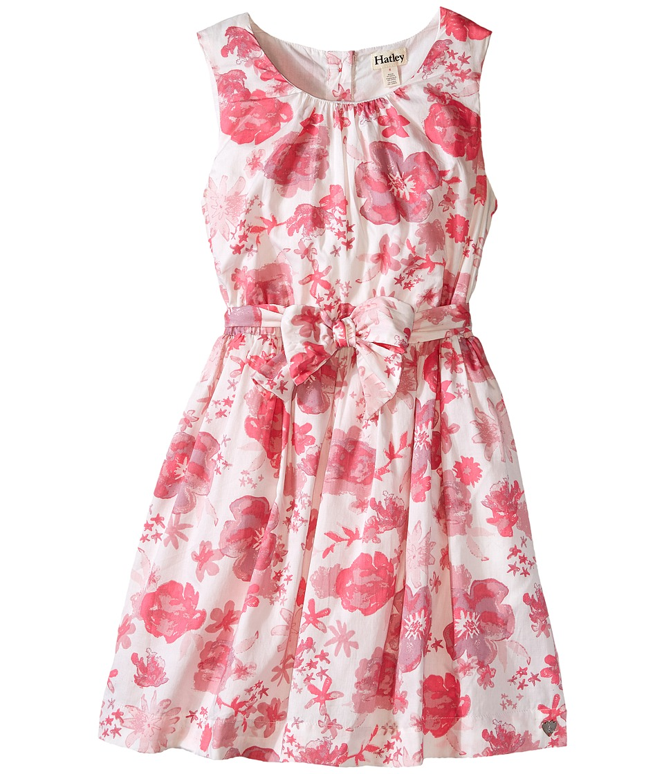 Hatley Kids - Flowers Party Dress (Toddler/Little Kids/Big Kids) (Pink) Girl's Dress