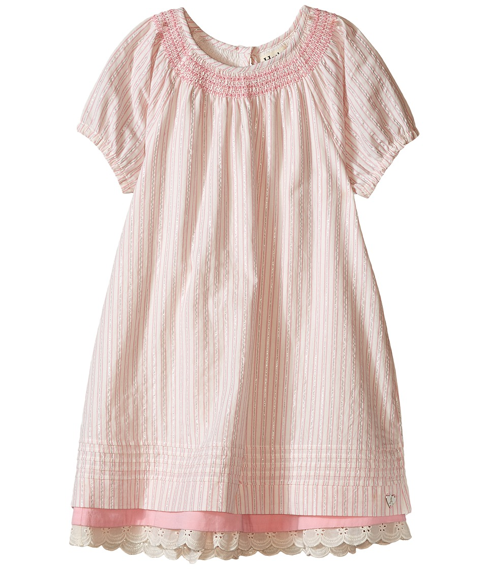 Hatley Kids - Sugar Pink Pintuck Dress (Toddler/Little Kids/Big Kids) (Pink) Girl's Dress