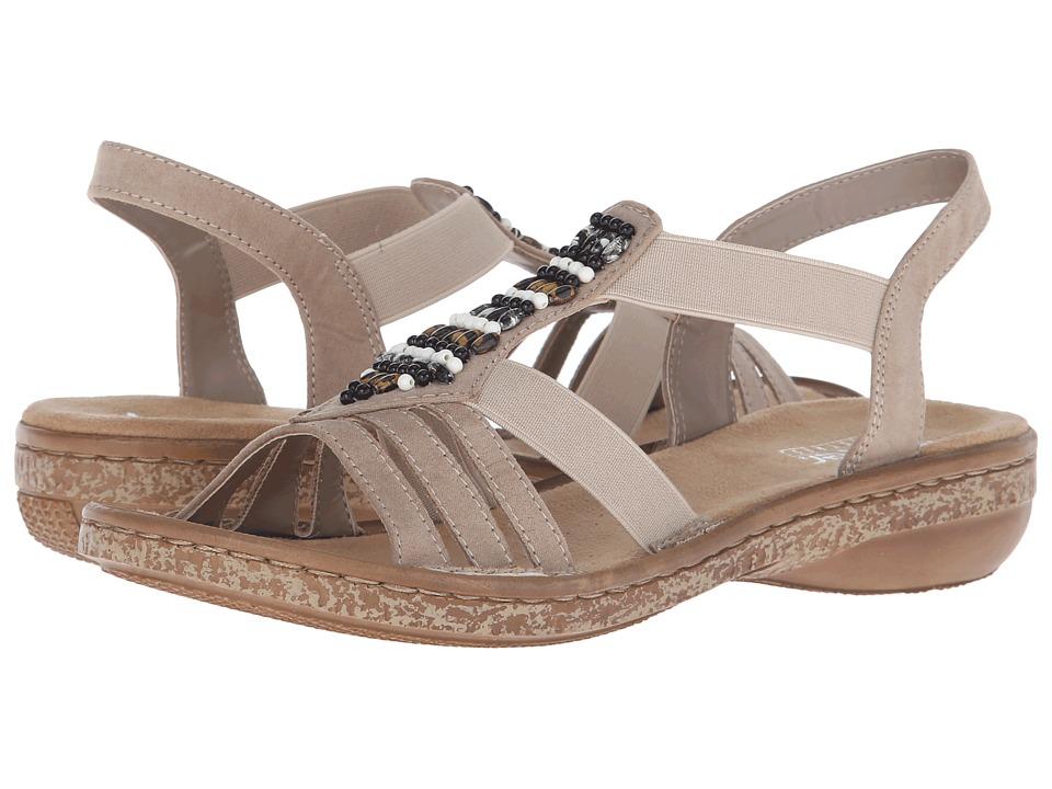 Rieker - 62851 Regina 51 (Muschel) Women's Sandals