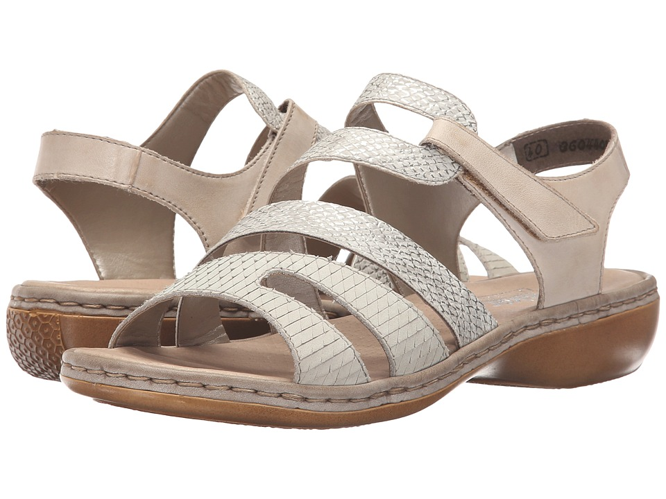 Rieker - 65973 Regina 73 (Marble/Ice/Cloud) Women's Sandals