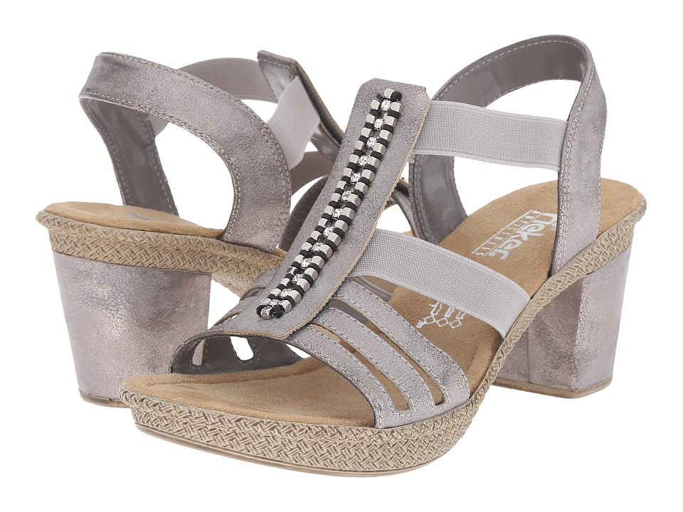 Rieker 66584 Rabea 84 (Grey) High Heels