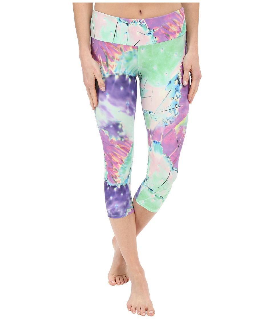 Onzie - Agave Capri Pants (Agave) Women's Capri plus size,  plus size fashion plus size appare
