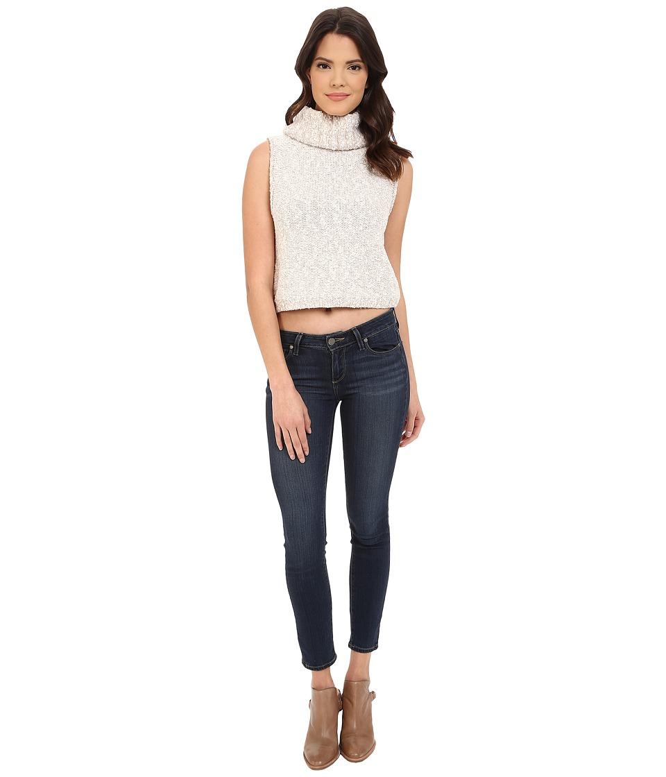 Free People - Little White Lies Vest (Oatmeal) Women's Sweater