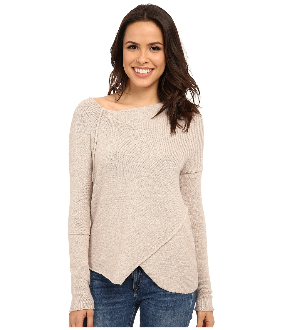 Free People - Love and Harmony Off The Shoulder Sweater (Oatmeal) Women's Sweater