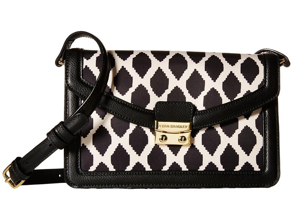 Vera Bradley - Tess Crossbody (Ikat Spots/Black) Cross Body Handbags