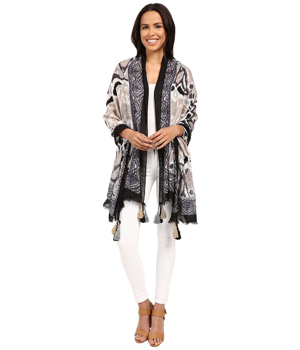 Michael Stars - Daydream in Ikat Wrap (Oyster) Women's Clothing