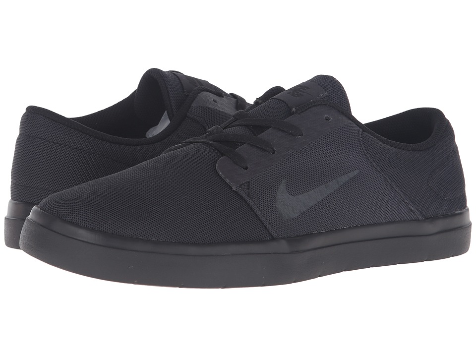 Nike SB Portmore Ultralight Mesh (Black/Anthracite) Men