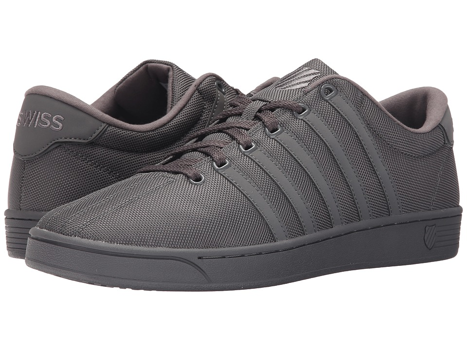 K-Swiss - Court Pro II T CMF (Charcoal/Charcoal Mesh) Men's Tennis Shoes