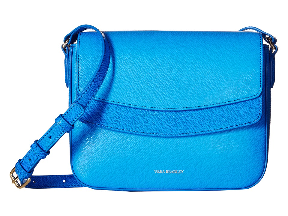 Vera Bradley - Twice As Nice Crossbody (Coastal Blue) Cross Body Handbags