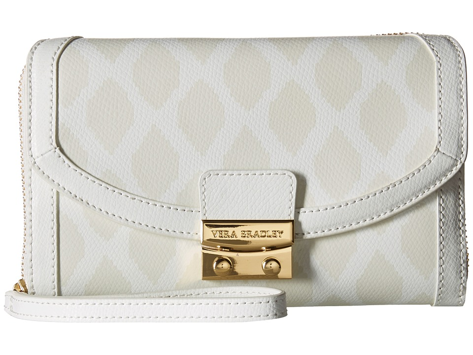 Vera Bradley - Ultimate Wristlet (Ikat Diamonds Oyster) Clutch Handbags