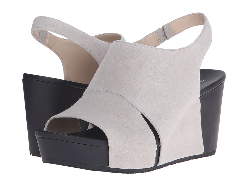 Dr. Scholl's - Weslyn - Original Collection (Bone Suede) Women's Wedge Shoes