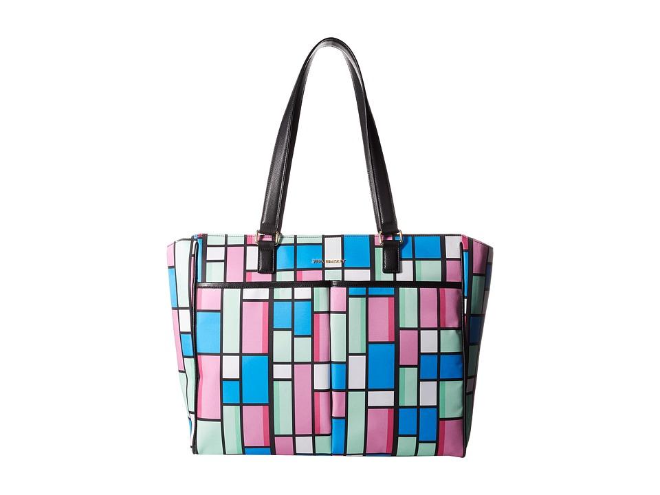 Vera Bradley - Uptown Baby Bag (Exotic Floral Grid/Black) Diaper Bags