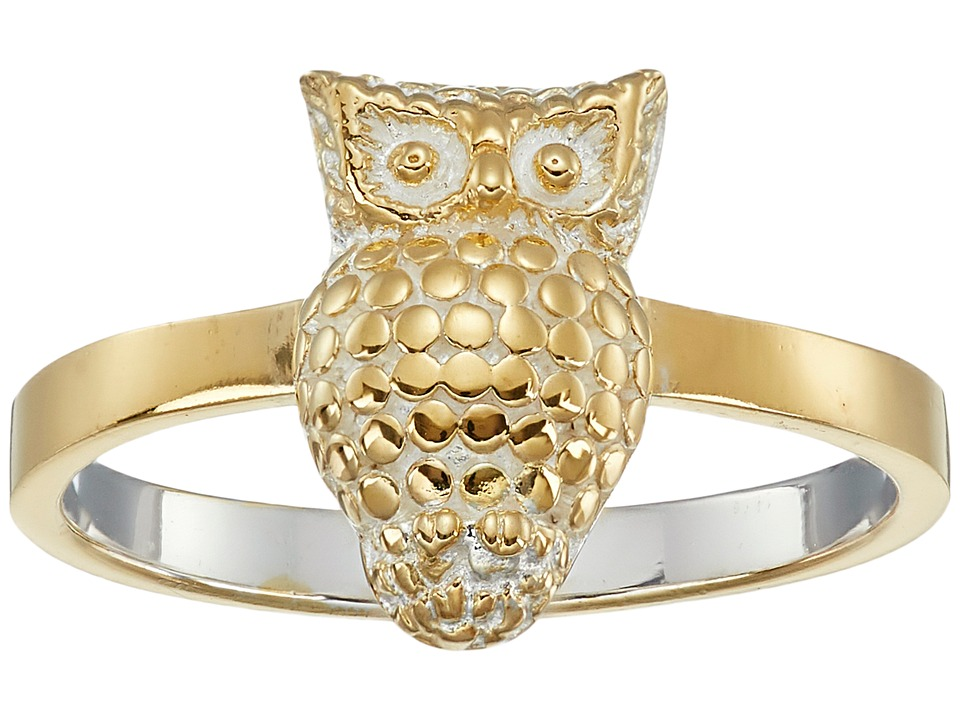 Anna Beck - Owl Ring (Sterling Silver/18K Gold Vermeil) Ring