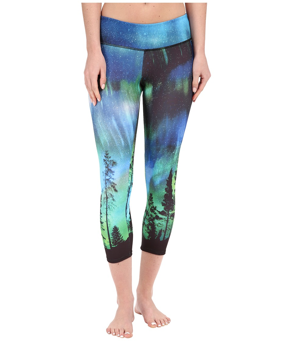 Onzie - Northern Lights Graphic Capris (Northern Lights) Women's Capri