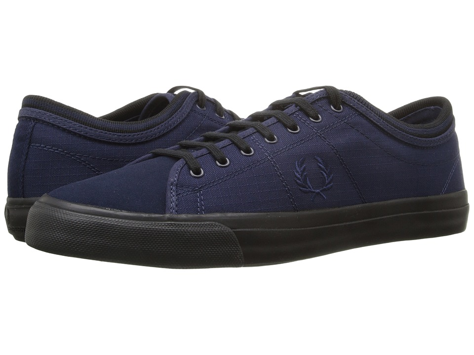 Fred Perry - Kendrick Tipped Cuff Cordura (Carbon Blue) Men's Lace up casual Shoes