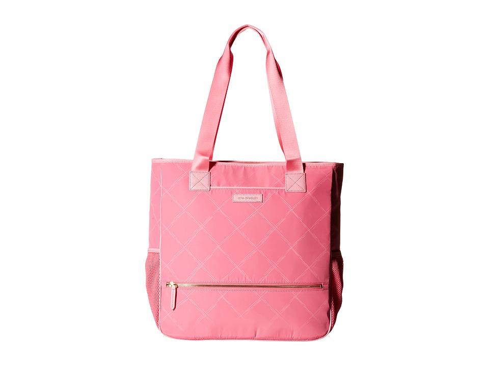Vera Bradley - Preppy Poly NoSo Tote (Blossom Pink) Satchel Handbags