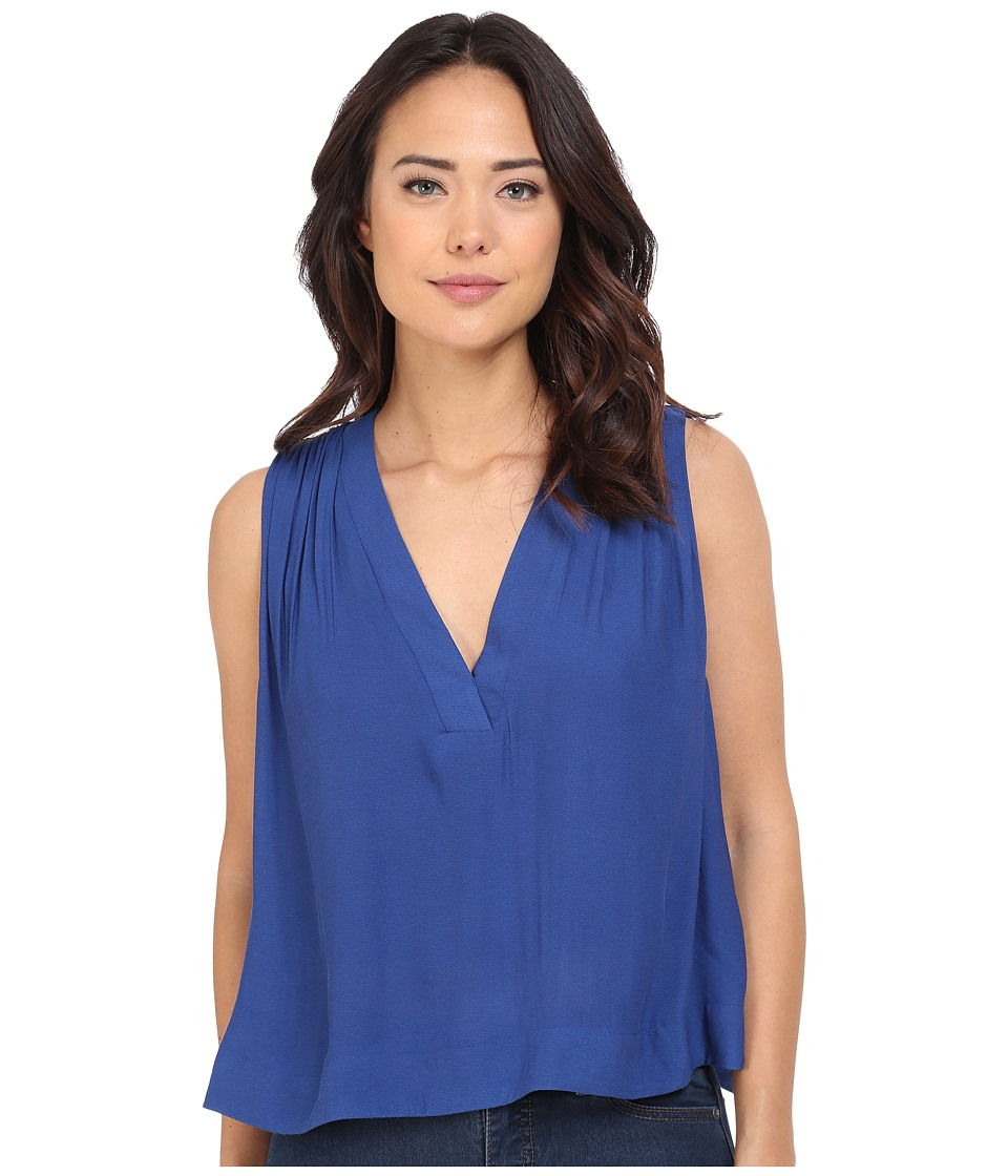Free People - Darcy Cap Tank Top (Cobalt) Women's Sleeveless