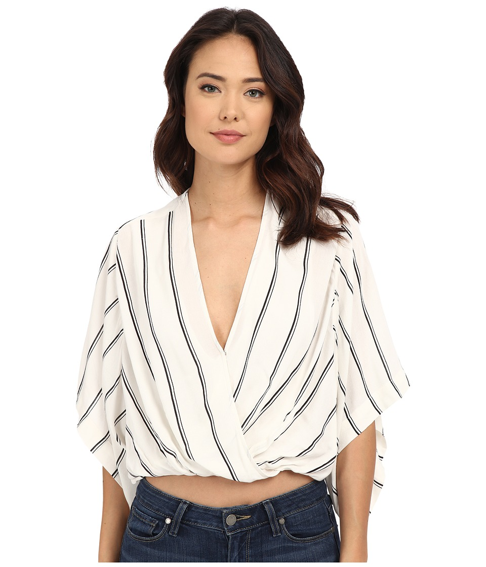 Free People - Sleepy Time Striped Kimono (Pearl Combo) Women's Robe